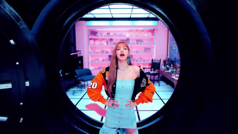 "Orange Jacket in ""DDU-DU DDU-DU"" K-Pop Music Video by BlackPink - Female Fashion"