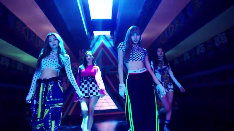 "Paco Rabanne Underwear in ""DDU-DU DDU-DU"" K-Pop Music Video by BlackPink"