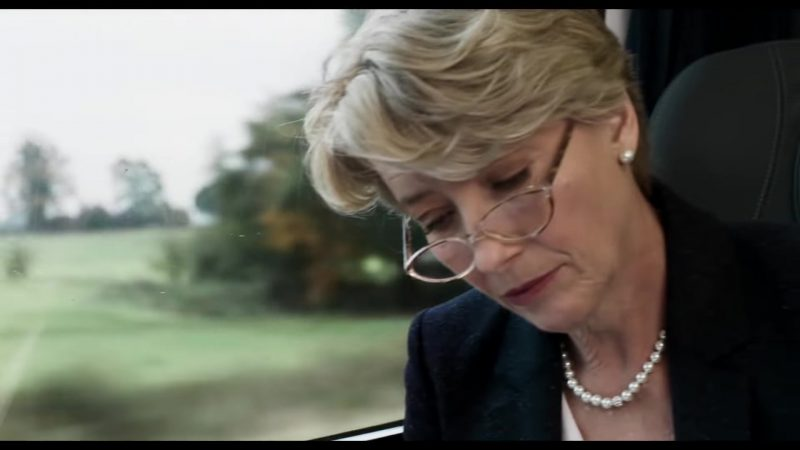 "Pearl Necklace Worn by Emma Thompson in ""The Children Act"" Movie"