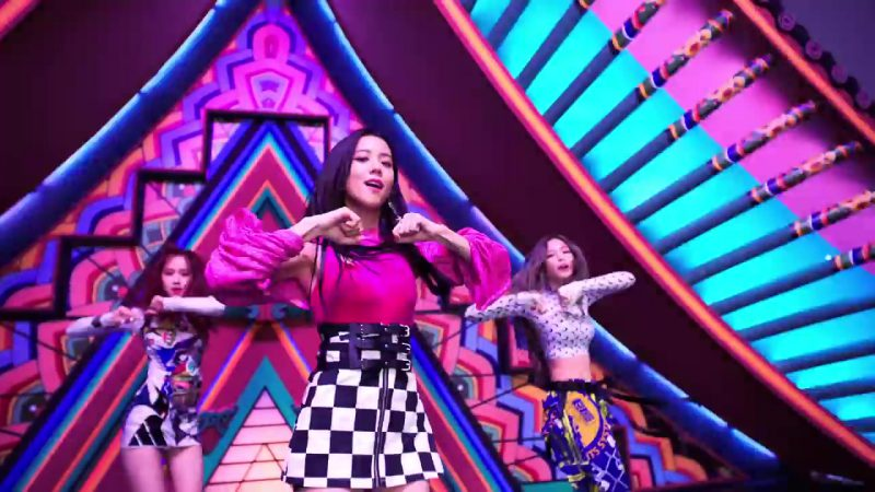 "Pink Long Sleeve Top in ""DDU-DU DDU-DU"" K-Pop Music Video by BlackPink"