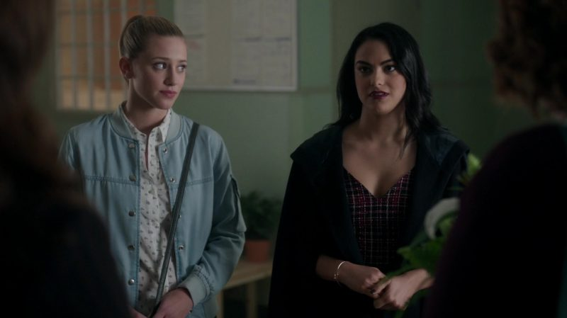 "Plaid Dress With Belt Worn by Camila Mendes in ""Riverdale"" TV Show"