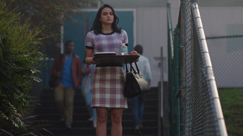 """Plaid Top And Skirt Matching Set Worn by Camila Mendes in """"Riverdale"""" TV Show - Female Celebrity Style"""