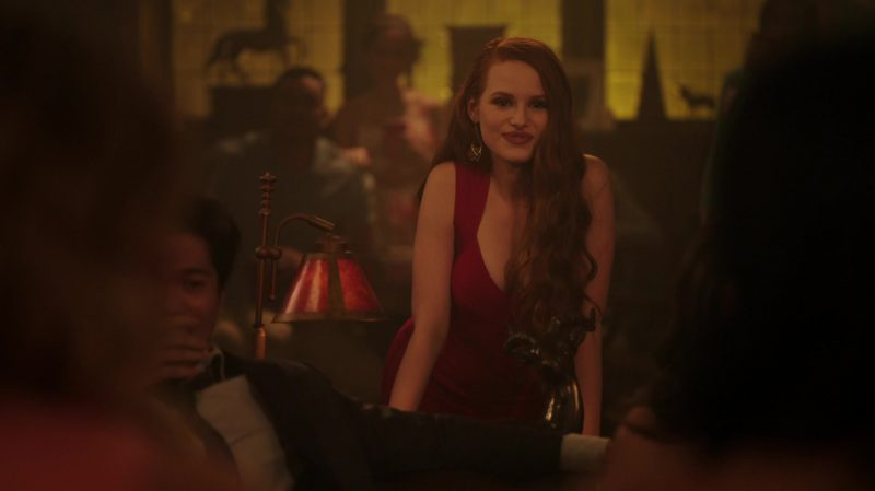 "Red Dress Worn by Madelaine Petsch in ""Riverdale"" TV Show"