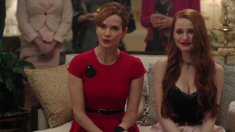 """Red Dress Worn by Nathalie Boltt in """"Riverdale"""" TV Show"""