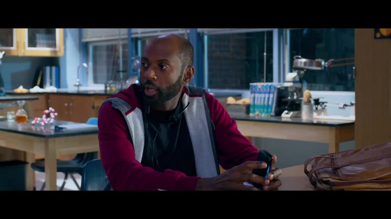 "Red Hoodie Worn by Romany Malco in ""Night School"" Movie"