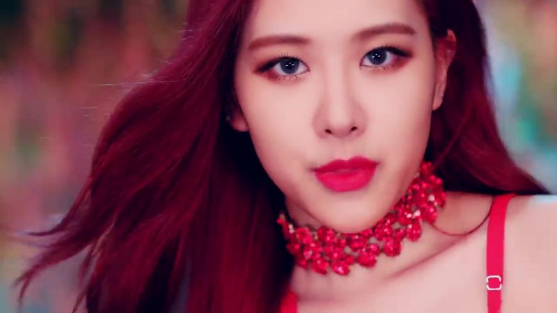 "Red Necklace in ""DDU-DU DDU-DU"" K-Pop Music Video by BlackPink - Female Fashion"