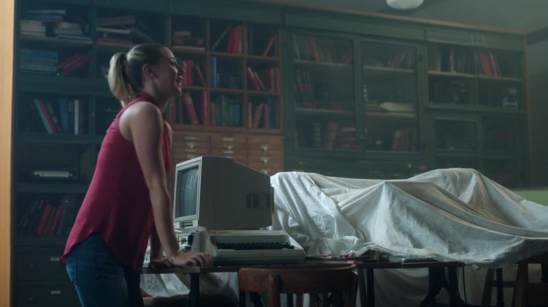"Red Top Worn by Lili Reinhart in ""Riverdale"" TV Show"