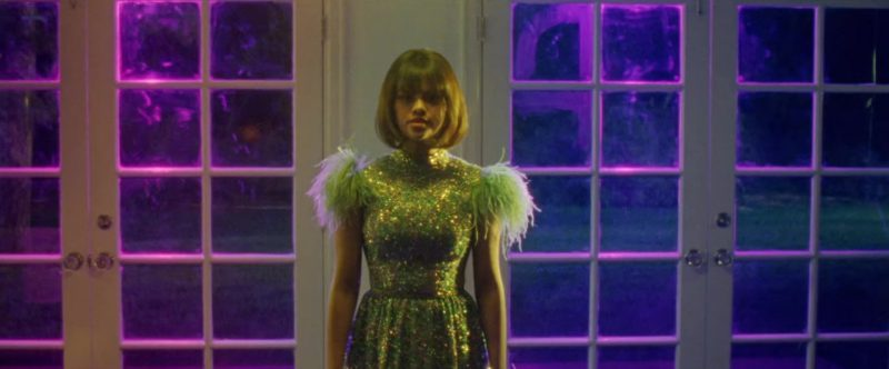 """Sequin Dress Worn by Selena Gomez in """"Back To You"""" Music Video - Female Fashion Outfits and Products"""