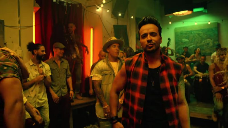 "Sleeveless Tartan Shirt Worn by Luis Fonsi in ""Despacito"" Official Music Video"