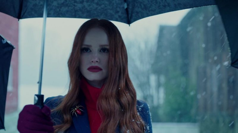 "Spider Brooch Worn by Madelaine Petsch in ""Riverdale"" TV Show - Female Fashion Outfits and Products"