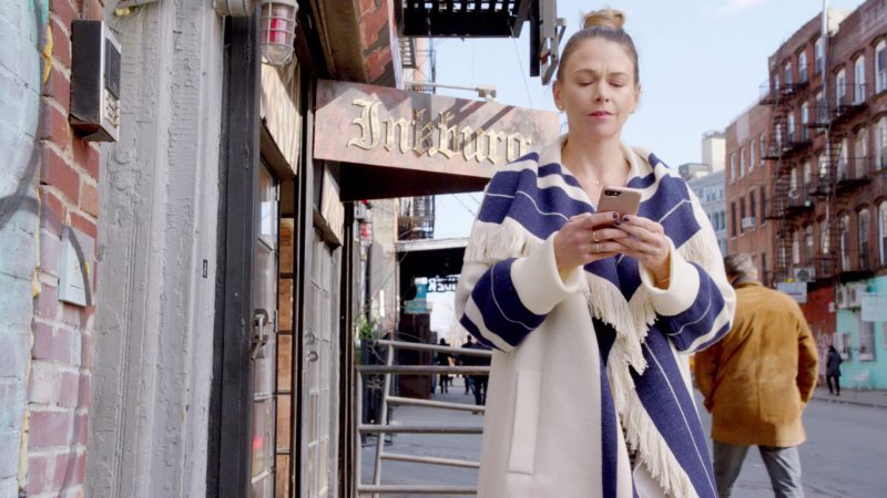 "Striped Coat Worn by Sutton Foster in ""Younger"" TV Show"
