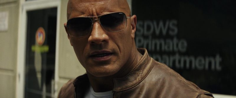 Sunglasses Worn by Dwayne Johnson (The Rock) in Rampage Movie
