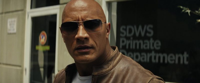 Sunglasses Worn by Dwayne Johnson (The Rock) in Rampage - Movie Outfits and Products