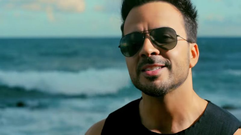 "Male  Celebrity Style:  Sunglasses Worn by Luis Fonsi in ""Despacito"" Official Music Video"