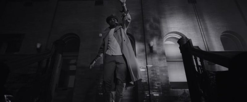 """Trench Coat Worn by Chris Brown in """"Hope You Do"""" Official Music Video"""