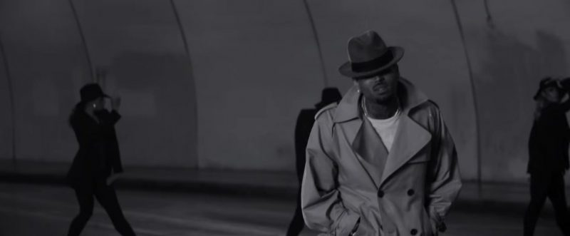"""Trench Coat Worn by Chris Brown in """"Hope You Do"""" Official Music Video - Youtube Outfits and Products"""