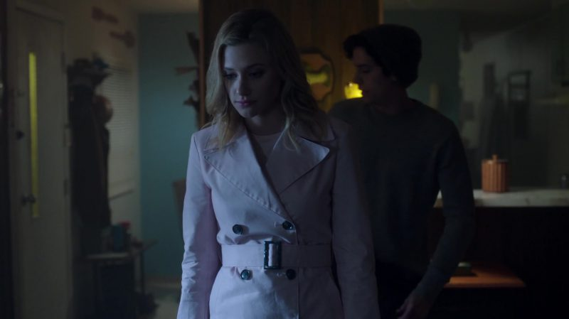 "Trench Coat Worn by Lili Reinhart in ""Riverdale"" TV Show"