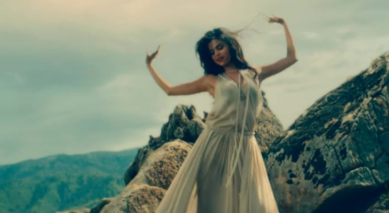 "White Dress Worn by Selena Gomez in ""Come & Get It"" Official Music Video"