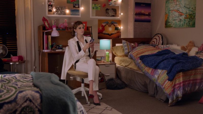"""White Pantsuit Worn by Emily Arlook in """"Grown-ish"""" TV Show - Female Fashion Outfits and Products"""