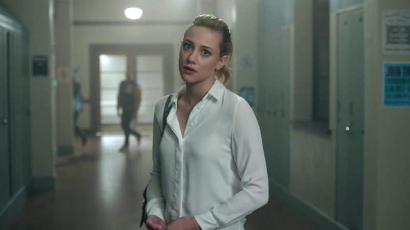 """White Shirt Worn by Lili Reinhart in """"Riverdale"""" - TV Show Outfits and Products"""