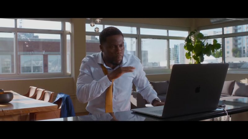 "White Shirt and Yellow Tie Worn by Kevin Hart in ""Night School"" - Movie Outfits and Products"
