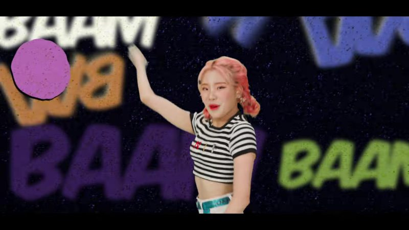 "Outfit Ideas And Fashion Worn by Momoland and Female Dancers In ""BAAM"" K-Pop Music Video"