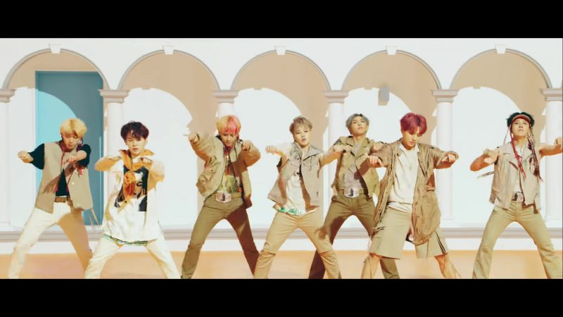 "Style and Fashion in ""Idol"" by BTS (방탄소년단) Music Video"