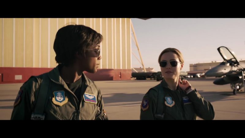 Aviator Sunglasses Worn by Brie Larson in Captain Marvel - Movie Outfits and Products