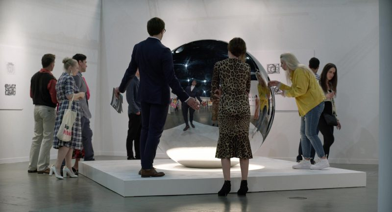 Leopard Dress Worn by Rene Russo in Velvet Buzzsaw - Movie Outfits and Products