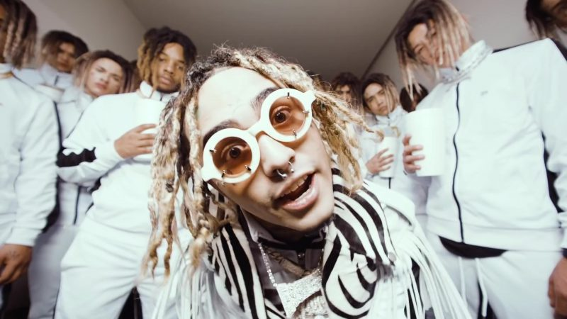"""Round Glasses Worn by Lil Pump in """"Be Like Me"""" - Youtube Outfits and Products"""