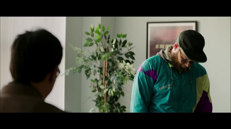 """Sports Jacket """"Looise A.V."""" Worn by Seth Rogen in Long Shot - Movie Outfits and Products"""