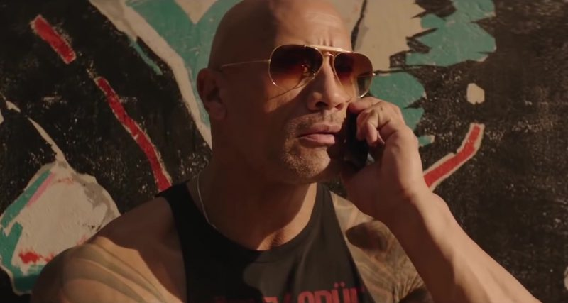 Sunglasses Worn by Dwayne Johnson in Hobbs And Shaw Movie