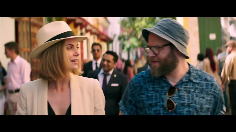 White Hat Worn by Charlize Theron in Long Shot - Movie Outfits and Products
