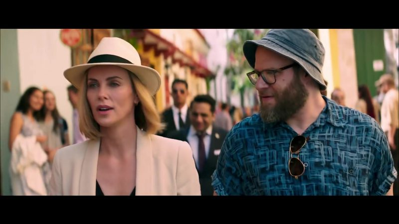 White Hat Worn by Charlize Theron in Long Shot Movie - Female Celebrity Style