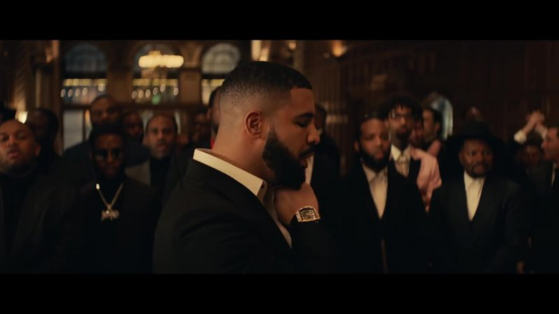 Wrist Watch Worn by Drake in Going Bad Music Video
