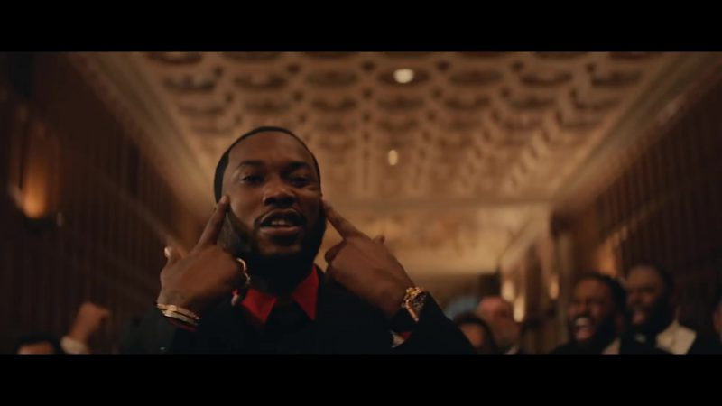 Wrist Watch Worn by Meek Mill in Going Bad Music Video - Male Fashion