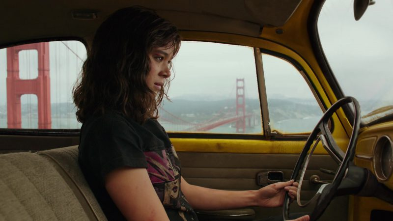 Female  Celebrity Style:  Neverending Rock & Roll T-Shirt Worn by Hailee Steinfeld in Bumblebee Movie