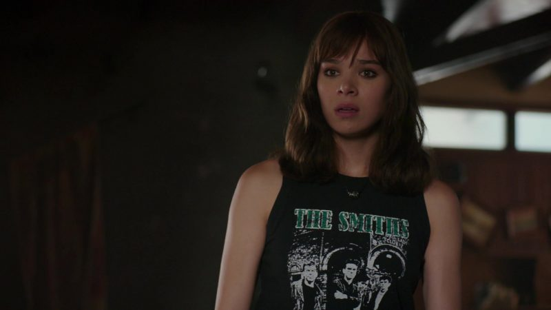 The Smiths T-Shirt Worn by Hailee Steinfeld in Bumblebee Movie - Female Fashion