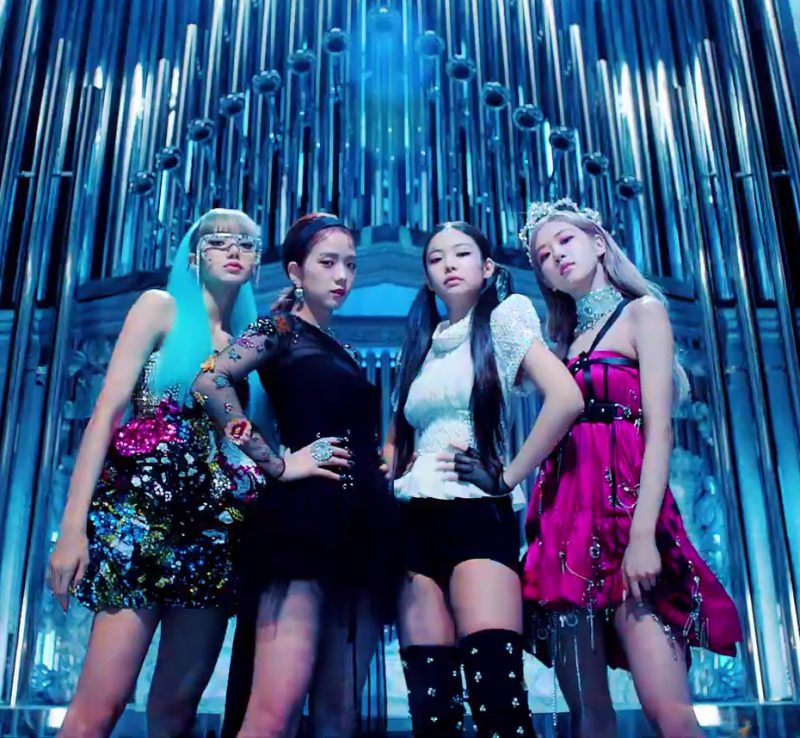 "Female  Celebrity Style:  Best Outfits and Style Ideas From ""Kill This Love"" Music Video by Blackpink"