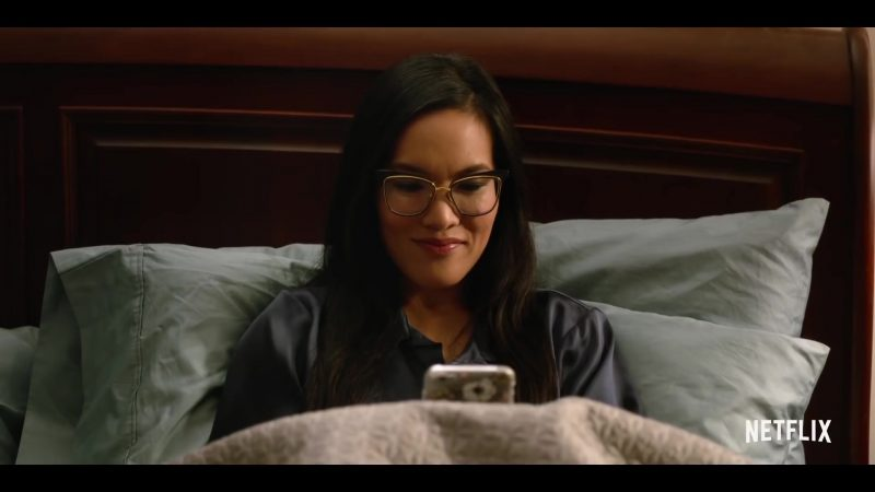 Cat Eye Frame Glasses Worn by Ali Wong in Always Be My Maybe - Movie Outfits and Products