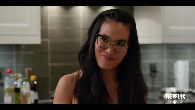 Cat Eye Frame Glasses Worn by Ali Wong in Always Be My Maybe Movie - Female Fashion Outfits and Products