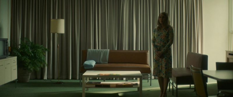 Floral Long Sleeve Dress Worn by Noomi Rapace in Stockholm Movie - Female Fashion Outfits and Products