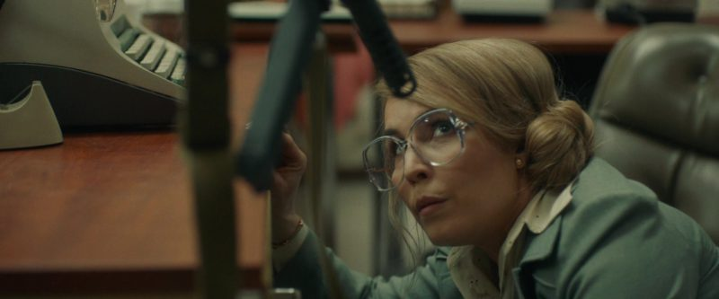 Oversized Eyeglasses With Big Retro Frame Worn by Noomi Rapace in Stockholm - Movie Outfits and Products