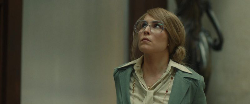 Oversized Eyeglasses With Big Retro Frame Worn by Noomi Rapace in Stockholm Movie - Female Fashion Outfits and Products