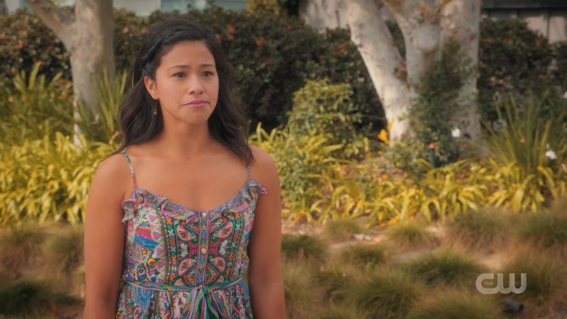 Summer Dress Worn by Gina Rodriguez in Jane The Virgin TV Show - Female Fashion Outfits and Products