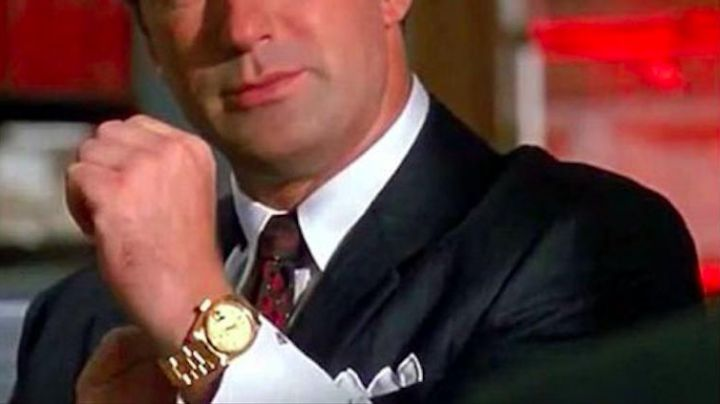 18ct Gold Rolex Daydate Watch worn by Blake (Alec Baldwin) in Glengarry Glen Ross - Movie Outfits and Products