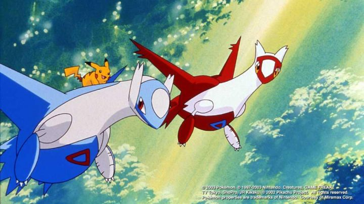 A REPLY To A PLUSH LATIOS IN THE MOVIE 05 : HEROES POKEMON - Movie Outfits and Products