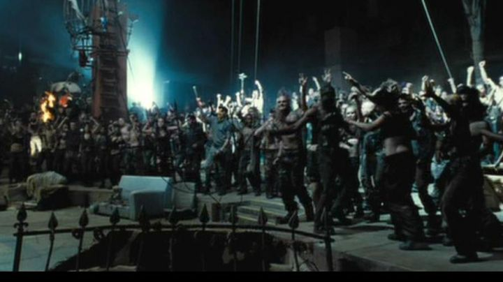 A Weapon In Doomsday 2008 Movie