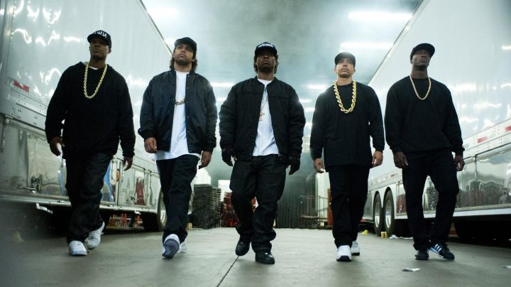 "AF1 in ""Straight Outta Compton"" - Movie Outfits and Products"