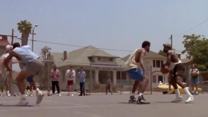 Adidas Artillery sneakers worn by Raymond (Marques Johnson) as seen in White Men Can't Jump - Movie Outfits and Products
